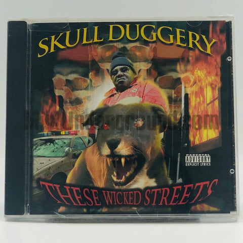 Skull Dugrey/Skull Duggery: These Wicked Streets: CD