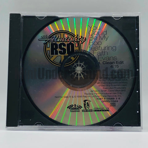 The Almighty RSO featuring Faith Evans: You Could Be My Boo: CD Single