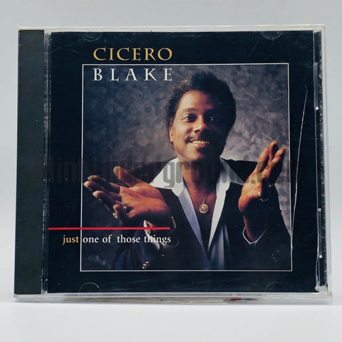 Cicero Blake: Just One Of Those Things: CD