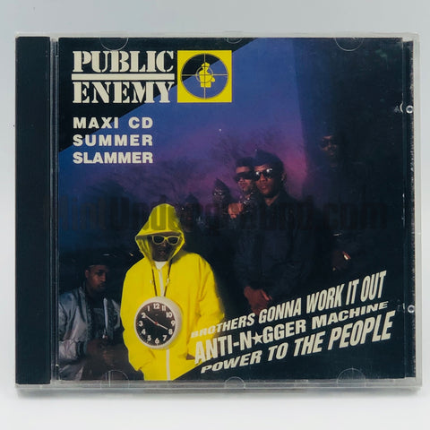 Public Enemy: Brothers Gonna Work It Out: Maxi CD Summer Slammer: CD Single