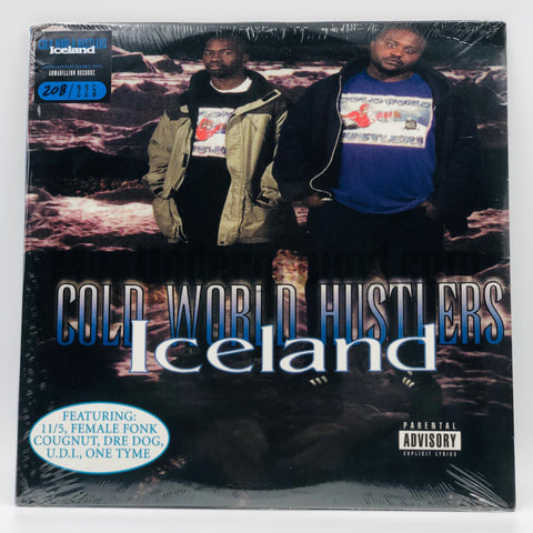 Cold World Hustlers: Iceland: 2nd Cover: Vinyl
