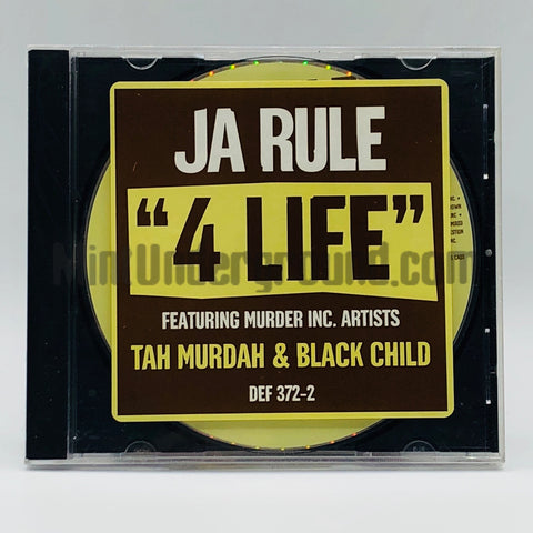 Ja Rule feat. Tah Murdah & Black Child: 4 Life : CD Single: Promo