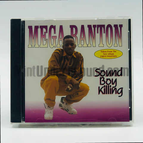 Mega Banton: Sound Boy Killing: CD Single