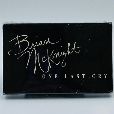 Brian McKnight: One Last Cry: Cassette Single