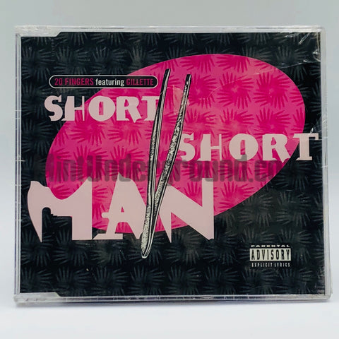 20 Fingers featuring Gillette: Short Short Man: CD Single