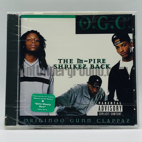 O.G.C. (Originoo Gunn Clappaz): The M-Pire Shrikez Back: CD