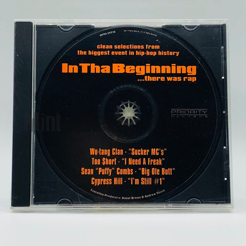 Various Artists: In Tha Beginning...There Was Rap: CD: Promo