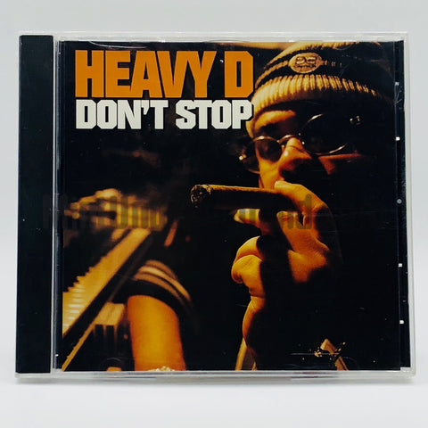 Heavy D: Don't Stop: CD Single: Promo