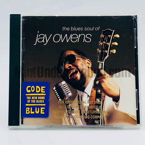 Jay Owens: The Blues Soul Of Jay Owens: CD