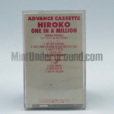 Hiroko: One In A Million: Cassette