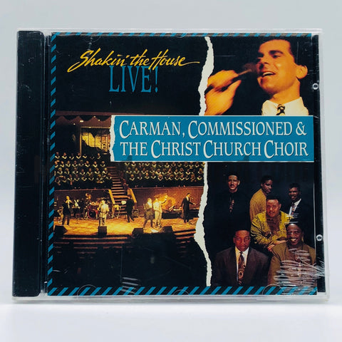 Carman, Commissioned And The Christ Church Choir: Shakin' The House...Live: CD