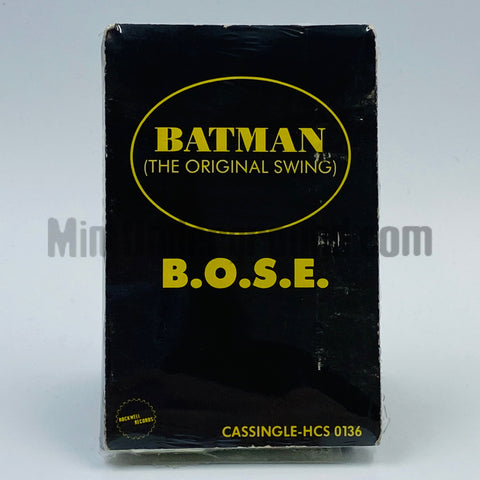 B.O.S.E.: Batman (The Original Swing): Cassette Single