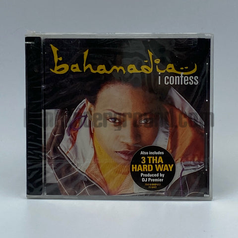 Bahamadia: I Confess: CD Single