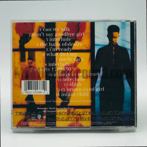 Tevin Campbell: I'm Ready:  CD