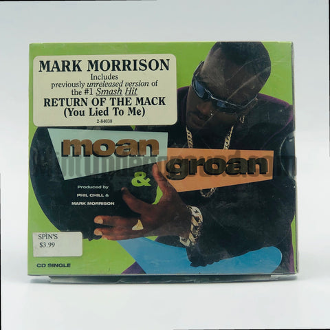Mark Morrison: Moan & Groan: CD Single