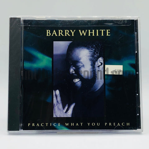 Barry White: Practice What You Preach: CD Single