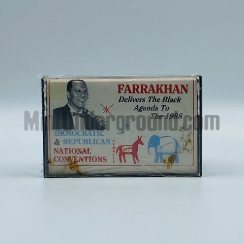 Louis Farrakhan: Delivers The Black Agenda to The 1988 Democratic & Republican National Convention's: Cassette