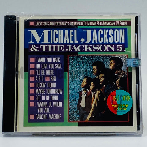 Michael Jackson & The Jackson 5: Great Songs And Performances That Inspired The Motown 25th Anniversary Television Special: CD