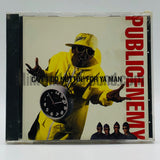 Public Enemy: Can't Do Nuttin' For Ya Man: CD Single