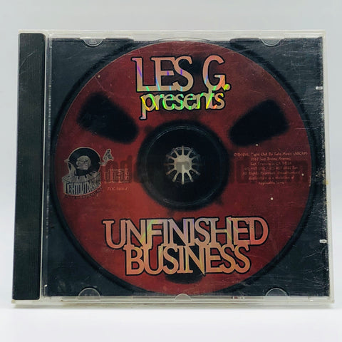 "Les G/Les-""G""/Les G./Les-G presents: Unfinished Business: CD"