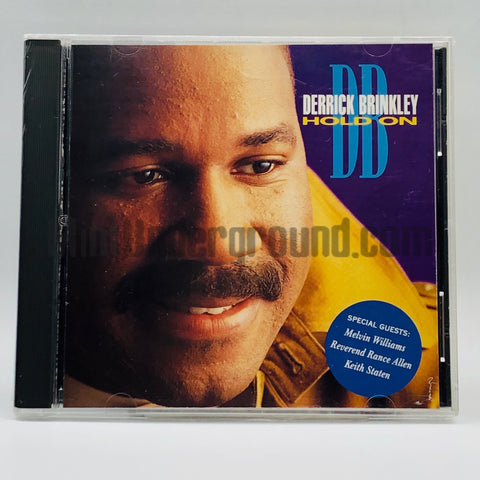 Derrick Brinkley: Hold On: CD