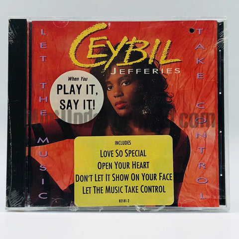 Ceybil Jeffries: Let The Music Take Control: CD