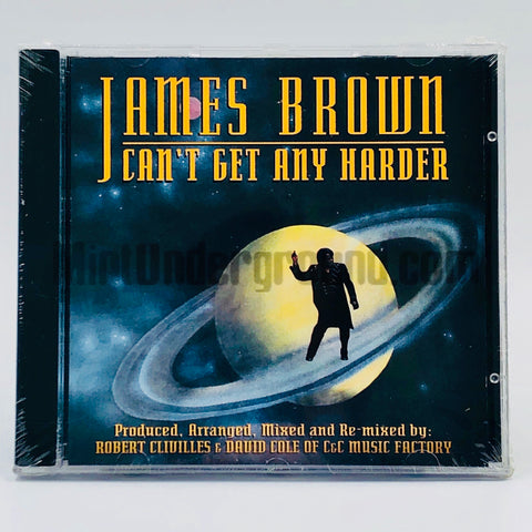James Brown: Can't Get Any Harder: CD