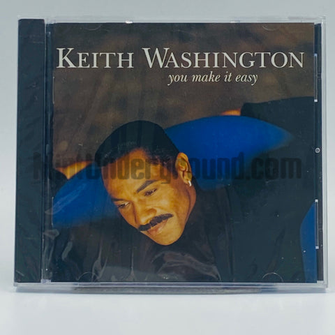 Keith Washington: You Make It Easy: CD