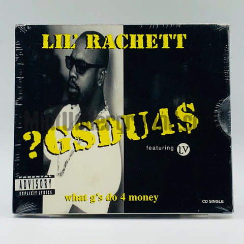 Lil' Rachett feat. LV: ?GSDU4$ (What G's Do 4 Money): CD Single