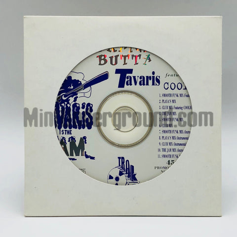 Tavaris featuring Coolio: Straight Butta: CD Single: Promo