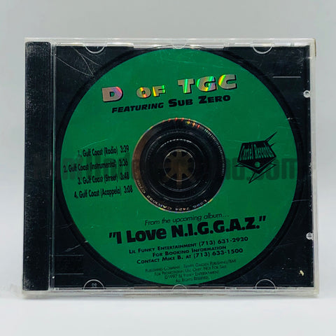 D Of Trinity Garden Cartel: Gulf Coast: CD Single
