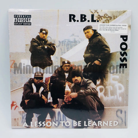 R.B.L. Posse/RBL Posse: A Lesson To Be Learned: Vinyl