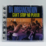 Da Organization: Can't Stop No Player/Bend Over: CD Single