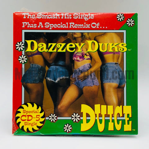 Duice: Dazzey Duks: CD Single
