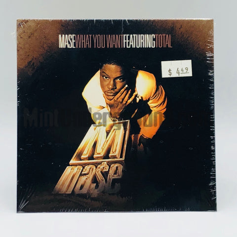 Mase featuring Total: What You Want/Will They Die 4 You: CD Single