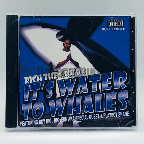 Rich The Factor: It's Water To Whales (Full Length): CD