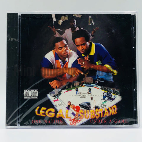 Legal Substanz: One Nation Under A Game: CD