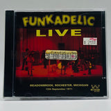 Funkadelic: Live: Meadowbrook, Rochester, Michigan: 12th September 1971: CD