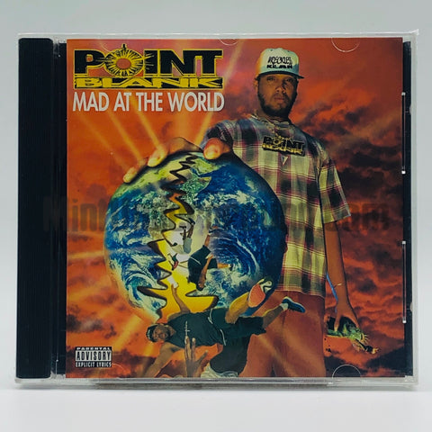 Point Blank: Mad At The World: CD