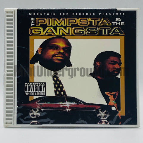 The Pimpsta & The Gangsta: The Pimpsta & The Gangsta: CD