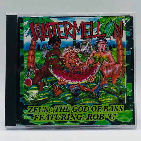 Zeus The God Of Bass: Watermelon: CD Single
