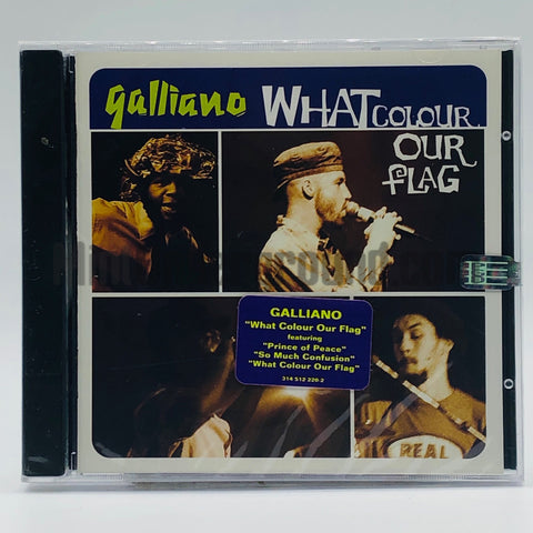 Galliano: What Colour Our Flag: CD