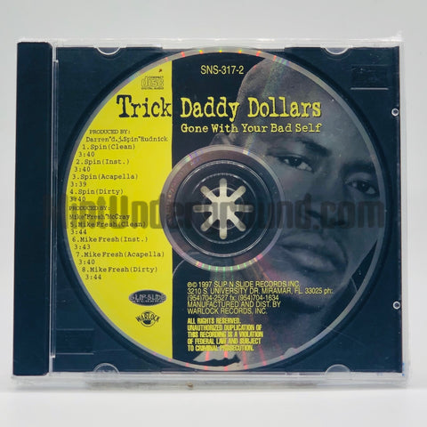 Trick Daddy: Gone With Your Bad Self: CD Single