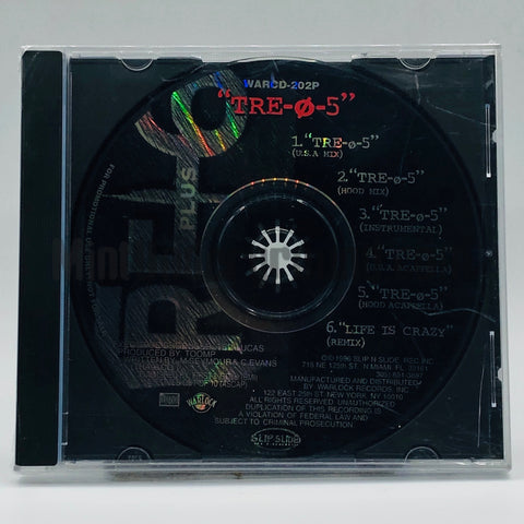 Tre+6/Tre Plus 6: Tre-O-5/Life Is Crazy: CD Single