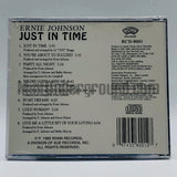 Ernie Johnson: Just In Time: CD
