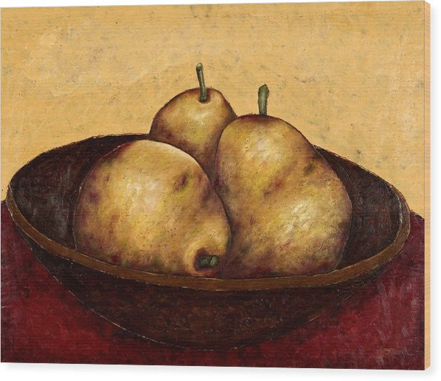 Anjou Pears In Bowl