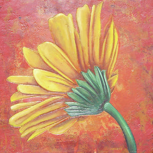Yellow Gerbera - Art Print