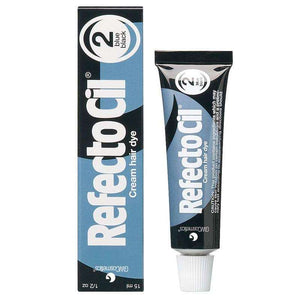 RefectoCil Cream Hair Tint Blue Black #2 0.5 oz - Hot Brands Store
