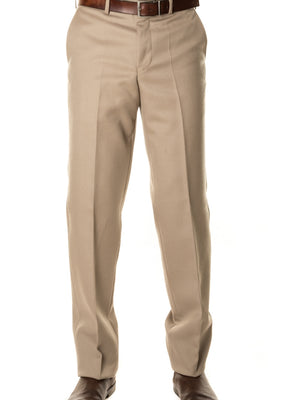 Heavyweight Wool Worsted Cavalry Twill Trouser - Tan