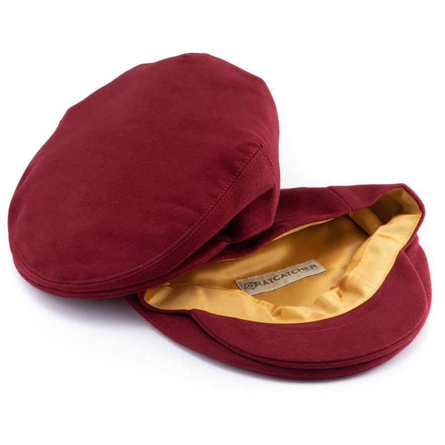 Moleskin Cap - Red